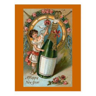 Een gelukkig Nieuwjaar Briefkaart