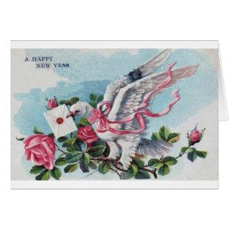 Een gelukkige Nieuwjaarskaart Kaart