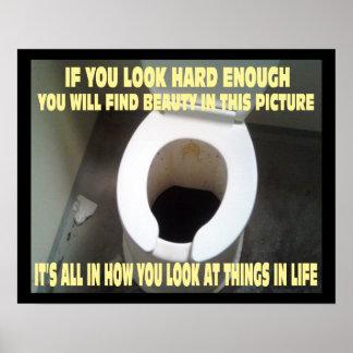 Een grappig Motivatie en Positief Poster