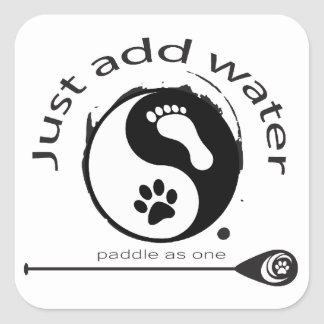 Een grote sticker voor paddleboardminnaars