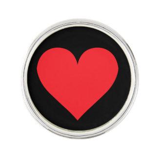 Een hart van Liefde en Affectie Reverspeldje