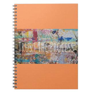 Een herinnering om op het Proces en op een Dagboek Notitieboek
