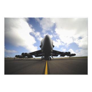 Een het onderhoudsbemanning van de Luchtmacht van Foto Print