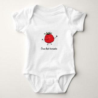 Één Hete Bodysuit van het Baby van de Tomaat