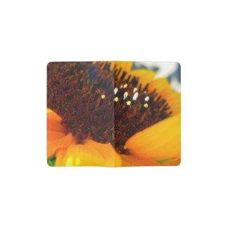 Een hoekige Zonnebloem Pocket Moleskine Notitieboekje