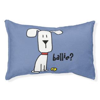 Een hond & Zijn Klein Kussen van het Bed van de Hondenbedden