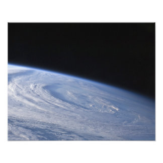 Een hoog-schuin uitzicht foto afdruk