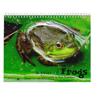 Een jaar van de Kalender van Kikkers