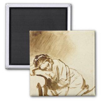 Een jonge Slaap c.1654 van de Vrouw Magneten