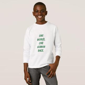 Één Kinder Overhemd van de Wereld T Shirt