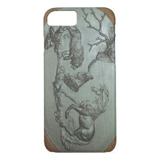 Een leeuw, een Paard, een 1780 klassieke iPhone 7 iPhone 8/7 Hoesje