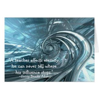 """Een """"leraar de Kaarten beïnvloedt van de"""