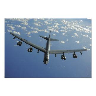 Een Luchtmacht van de V.S.B-52 Stratofortress Foto Afdruk