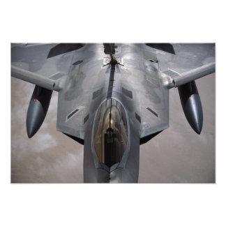 Een Luchtmacht van de V.S.F-22 wordt Roofvogel Fotografische Afdruk