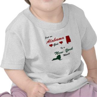 Een meisje van Alabama in New York T Shirts