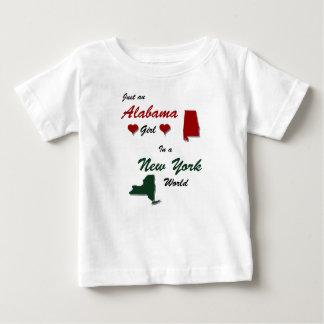 Een meisje van Alabama in New York T-shirts