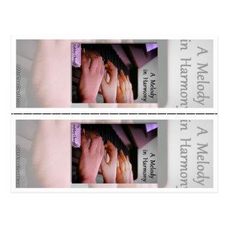 """Een """"melodie in Harmonie"""" door Ashley Chunell Briefkaart"""