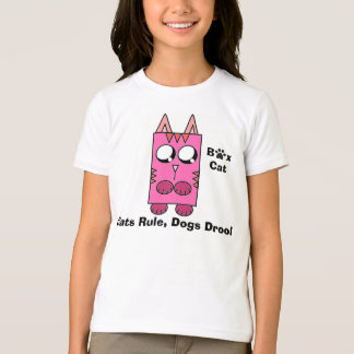 Een merk van de Kat van de Doos - de Regel van T Shirt