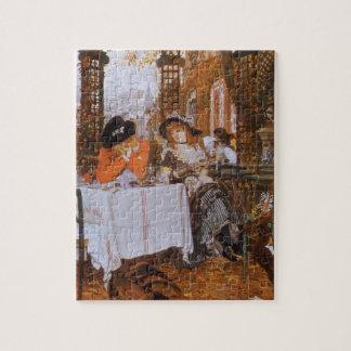 Een middagmaal (Le Dejeuner) door James Tissot Puzzel