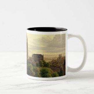 Een middeleeuwse Stad in 1830, 1830 Tweekleurige Koffiemok
