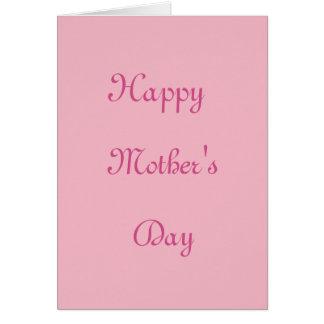 Een moederdag kaart