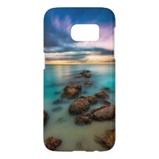 Een mooie Zonsondergang over Baai | van de Gunst Samsung Galaxy S7 Hoesje