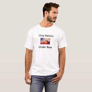 Één Natie onder Bier T Shirt