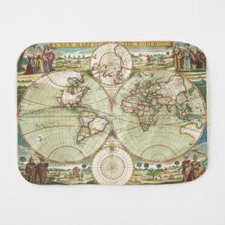 Een nieuwe mapp van de wereld - Atlas Monddoekjes