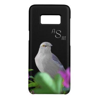 Een noordelijke het Bespotten Vogel met Paarse & Case-Mate Samsung Galaxy S8 Hoesje