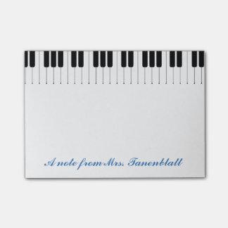 Een nota van uw muziekleraar post-it® notes