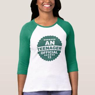 Een officieel T-shirt van de VERJAARDAG van de