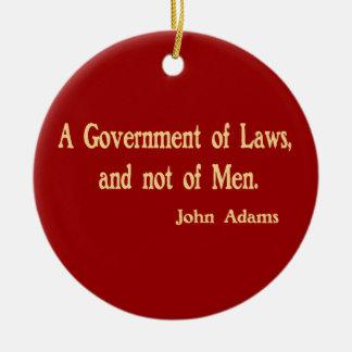 Een overheid van het Ornament van Wetten