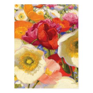 Een overvloed van Bloemen Briefkaart