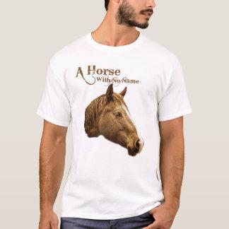Een paard zonder het Bruine Westerne Potlood van T Shirt