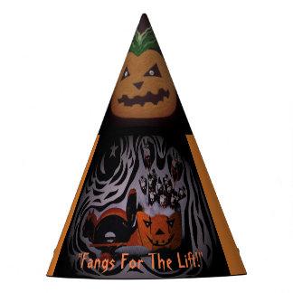 een pet van Halloween voor de geanimeerd partij Feesthoedjes