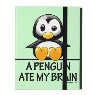 Een pinguïn at Mijn Hersenen iPad Hoesje