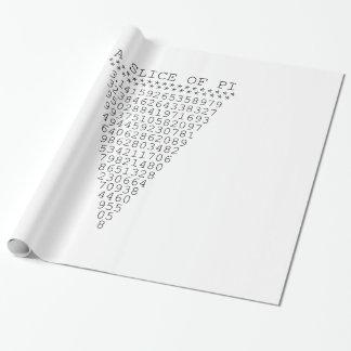 Een plak van Pi- Presentatie Inpakpapier