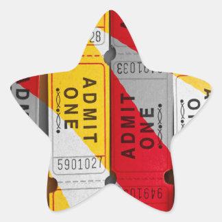 Een plons van Kaartjes Ster Sticker