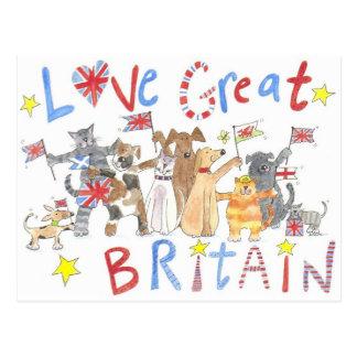 Een prachtig patriottisch briefkaart