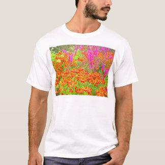 Een rel van Kleur HDR T Shirt
