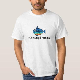 Een slecht gebonden knoop zal altijd met de vissen t shirt