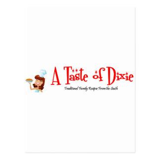 Een smaak van Dixie Briefkaart