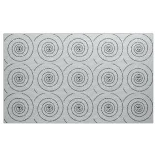 Een spiraal voor Pi klikt aanpast de Grijze Kleur Stof