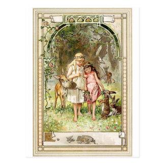Een spirituele Plaats - Fairytales - Sneeuwwitje Briefkaart