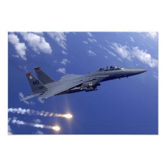 Een Staking Eagle van de Luchtmacht F-15E Fotoafdruk