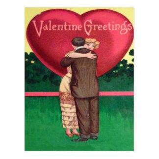 """Een streek"""" Valentijn """"van de Vriend Briefkaart"""