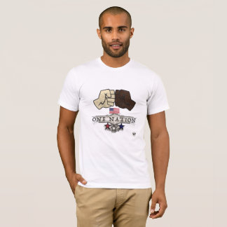 Één T-shirt van de Natie door Oude Creatief