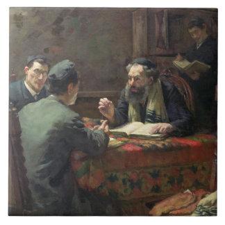 Een theologisch Debat, 1888 Tegeltje