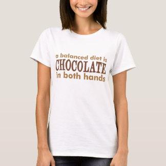 Een uitgebalanceerd dieet is… t shirt
