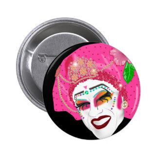 Één van de Meisjes Speld Buttons